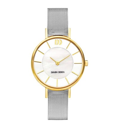Danish Design Damen-Armbanduhr Edelstahl Analog Quarz 3320226 (IV65Q1167)