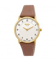 BOCCIA Damen-Armbanduhr Superslim Analog Quarz 3254-02