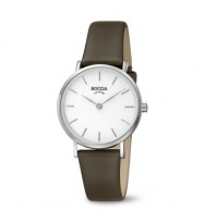 BOCCIA Damen-Armbanduhr Trend Analog Quarz 3281-01