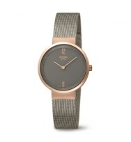 BOCCIA Damen-Armbanduhr Superslim Analog Quarz 3283-03