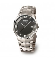 BOCCIA Herrenuhr Superslim 3561-02