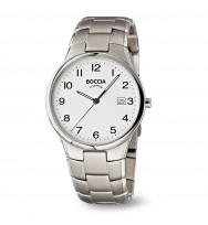 BOCCIA Herrenuhr Classic 3512-08