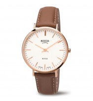 BOCCIA Damen-Armbanduhr Royce Analog Quarz 3590-05