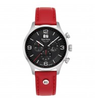 Bruno Söhnle Herren-Armbanduhr Padua Chronograph Analog Quarz 17-13196-723
