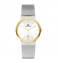 Danish Design Damen-Armbanduhr Edelstahl Analog Quarz 3324579 (IV65Q971)