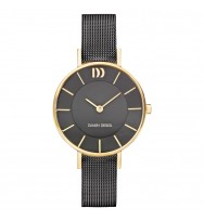 Danish Design Damen-Armbanduhr Edelstahl Analog Quarz 3320220 (IV70Q1167)