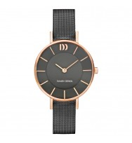 Danish Design Damen-Armbanduhr Edelstahl Analog Quarz 3320221 (IV71Q1167)