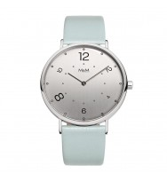 M&M Uhren, Ersatzarmband M11870-843, Basic 40