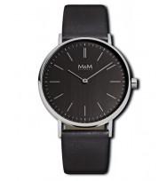 M&M Uhren, Ersatzarmband M11892-445, Basic 36