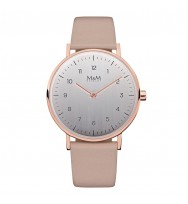 M&M Uhren, Ersatzarmband M11892-993, Basic 36