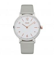 M&M Uhren, Ersatzarmband M11892-848, Basic 36