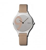M&M Uhren, Ersatzarmband M11898-843, Big Nine