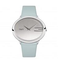 M&M Uhren, Ersatzarmband M11899-843, Oval Time