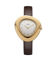 M&M Uhren, Ersatzarmband M11924-532, Pebble