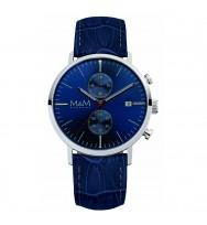 M&M Uhren, Ersatzarmband M11911-845, Chronograph