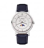 M&M Uhren, Ersatzarmband M11919-448, Moonphase