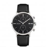 M&M Uhren, Ersatzarmband M11911-445, Chronograph