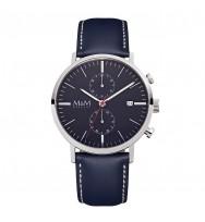 M&M Uhren, Ersatzarmband M11911-848, Chronograph