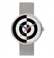 Walter Gropius Uhr WG005-08M, J. Albers