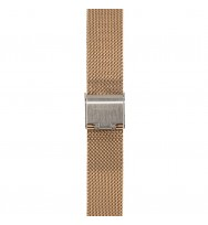 WATCHPEOPLE, Ersatzarmband SWP16M-005, Milanaise, rosègold, 16 mm