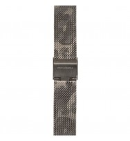 WATCHPEOPLE, Ersatzarmband SWP16M-011, Milanaise, camouflage hell, 16 mm