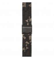 WATCHPEOPLE, Ersatzarmband SWP16M-012, Milanaise, camouflage, 16 mm