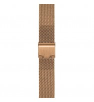 WATCHPEOPLE, Ersatzarmband SWP18M-002, Milanaise, rosègold, 18 mm