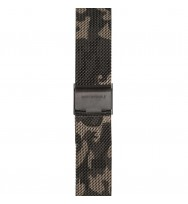 WATCHPEOPLE, Ersatzarmband SWP18M-004, Milanaise, camouflage, 18 mm