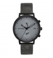 WATCHPEOPLE Herren-Armbanduhr COSMO BLACK Analog Quarz WP050-01