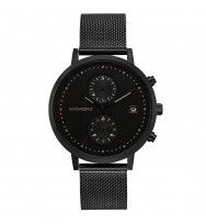 WATCHPEOPLE Herren-Armbanduhr COSMO BLACK Analog Quarz WP049-02