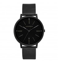 WATCHPEOPLE Herren-Armbanduhr HIDDEN BLACK Analog Quarz WP044-01