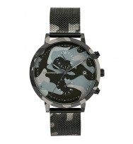 Watchpeople Herrenuhr Cosmo Camouflage WP052-01