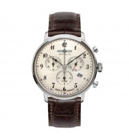 Zeppelin Herrenarmbanduhr LZ 129 Hindenburg Chronograph Analog Quarz 7086-4