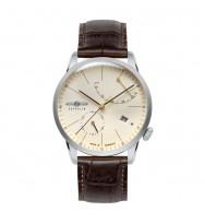 Zeppelin Herren-Armbanduhr Flatline Analog Automatik 7366-5