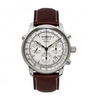 Zeppelin Ersatzband Chronometer Sternwarte Glashütte 7620-1 braun