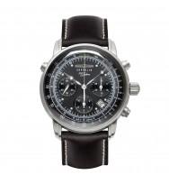 Zeppelin Ersatzarmband Chronometer Sternwarte Glashütte 7620-2 schwarz