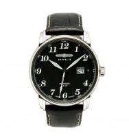 Zeppelin Ersatzarmband Chronometer Sternwarte Glashütte 7650-2 schwarz