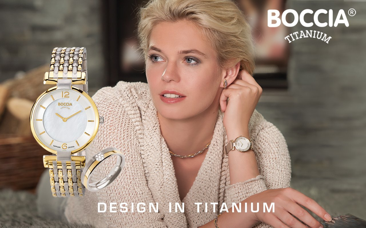 BOCCIA Titanium Damenuhren